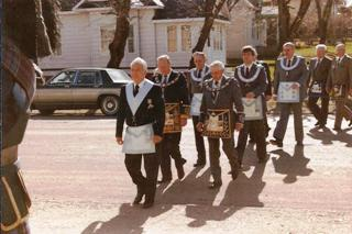 Church Parade of Buffalo Park Lodge No. 44